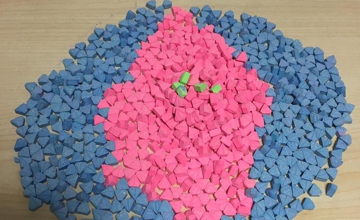 800 Adet Uyuşturucu Hap Ele Geçirildi