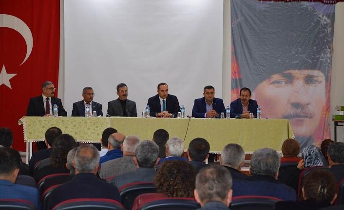 Ermenek'te Muhtarlar Toplantısı Yapıldı