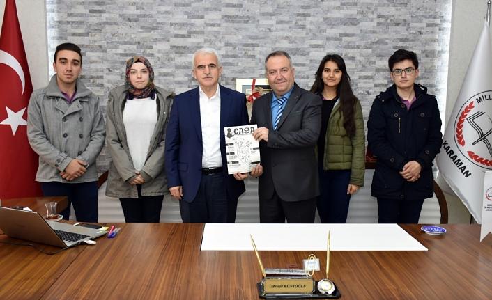 "İrfan Ataseven Anadolu Lisesi'nden ""Çağa"" Dergisi"