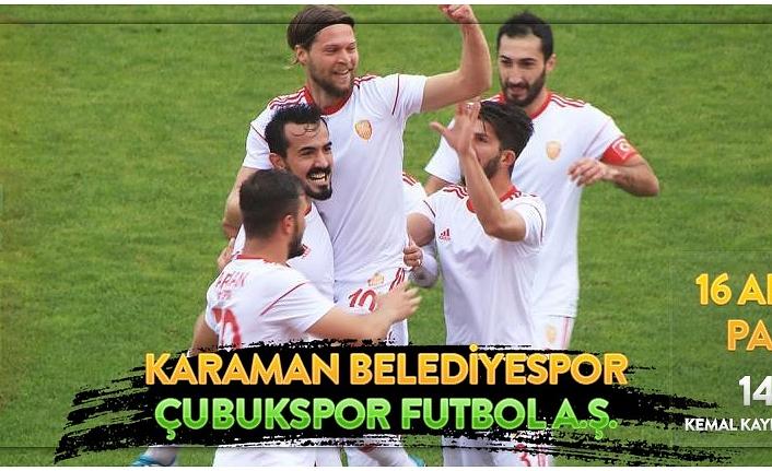 Karaman Belediye Spor Çubuk Spor'u Ağırlıyor