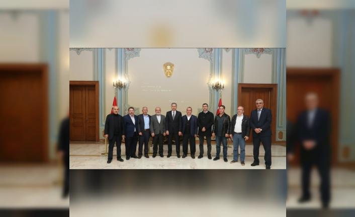 Karaman Dernekleri Federasyonu'ndan İstanbul Valisi'ne Ziyaret