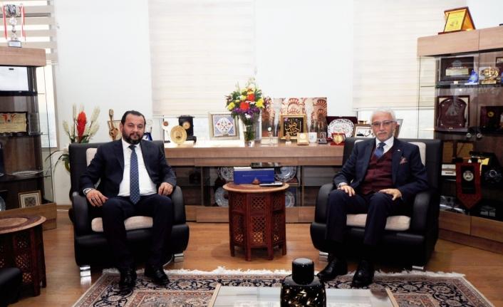 Rektör Akgül'den Necmettin Erbakan Üniversitesi Rektörüne Ziyaret