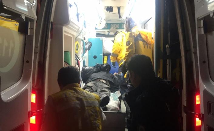 Yerde Baygın Halde Bulunan Şahıs Hastaneye Kaldırıldı