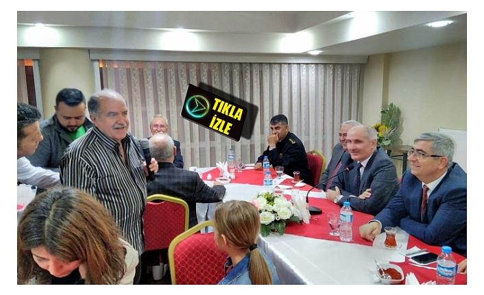 Basın Mensupları Valilik Yemeğinde Bir Araya Geldi