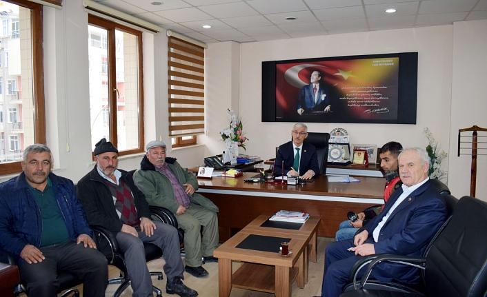 İl Genel Meclis Başkan ve Üyelerinin Ziyaretleri Devam Ediyor