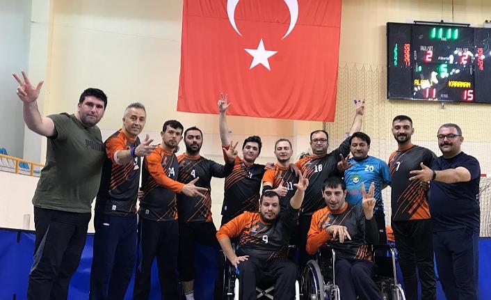 Oturarak Voleybol Türkiye Kupasından Üçüncülükle Döndük