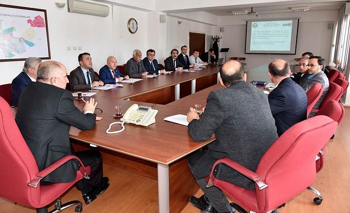 Siyasi Parti Başkanları Seçim Toplantısına Katıldı