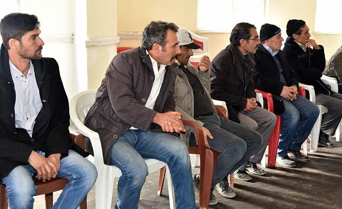 Karacaören Köyü Sakinleri Maden Ocaklarıyla İlgili Sorunlarını Vali Meral'e İlettiler