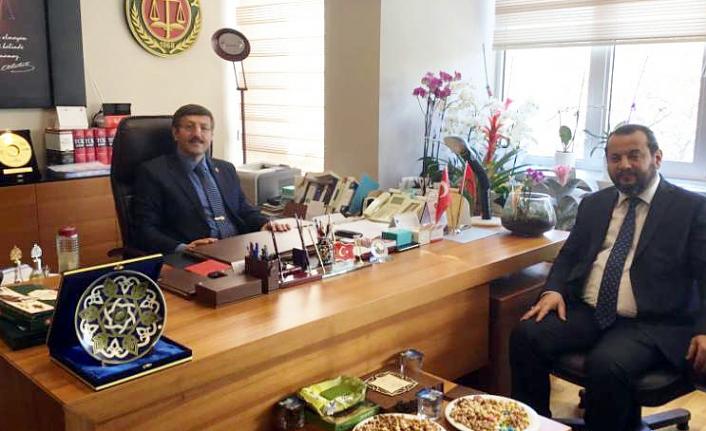 Yargıtay 3. Ceza Dairesi Başkanı Atalay'ı Ziyaret Etti