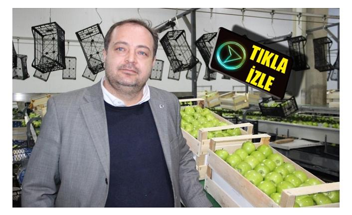 """Yıldızbaş """"Elmanın Depo Çıkış Fiyatı 1,5 ila 2,5 Lira Arasında Değişiyor"""""""