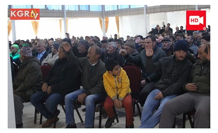 Damızlık Sığır Yetiştiricileri Birliği Yönetim Kurulu Başkan Seçimleri Yapıldı