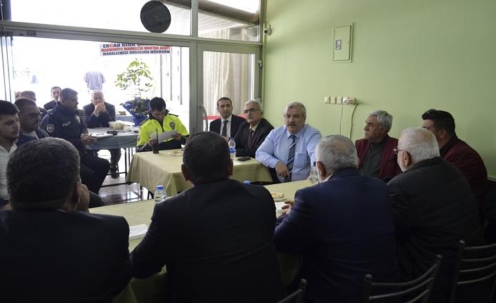 Huzur Toplantısı Kâzımkarabekir Mahallesi'nde Yapıldı