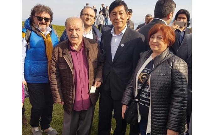 Japon Büyükelçisi Miyajima'yı Karaman'a Davet Ettik
