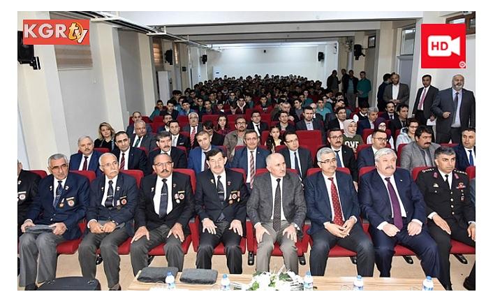 M. Akif Ersoy'u Anma ve İstiklal Marşımızın 98. Yıldönümü Programı Yapıldı