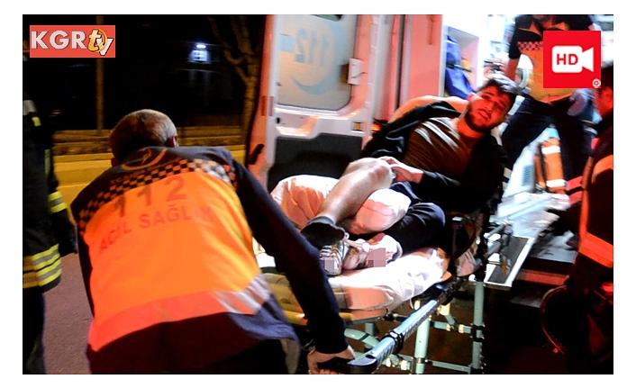 Bacağı Demir Korkuluğa Saplanan Gence İtfaiyeden Müdahale