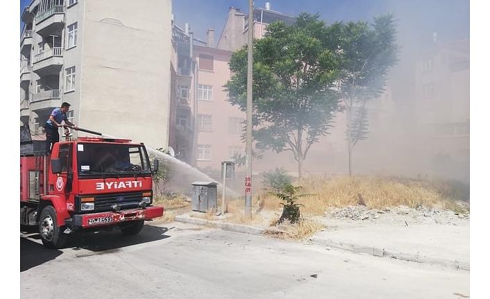 Çocukların Attığı Torpil Yangın Çıkardı