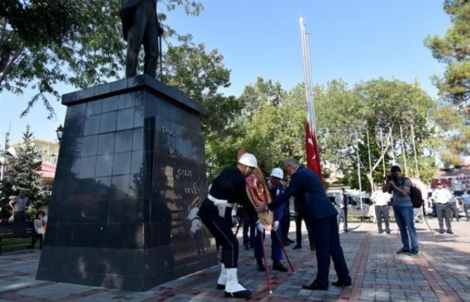 Karaman`da 30 Ağustos Zafer Bayramı Kutlandı