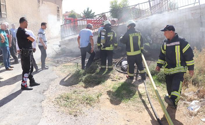 Tarihi Hamamda Yangın