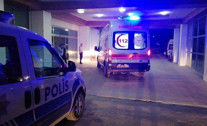 Ermenek'te Trafik Kazası: 1 Yaralı
