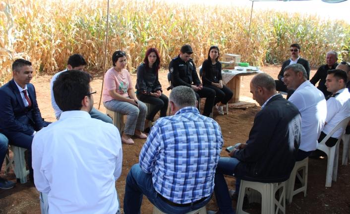 Kızılkuyu Köyünde Tarla Günü Düzenlendi