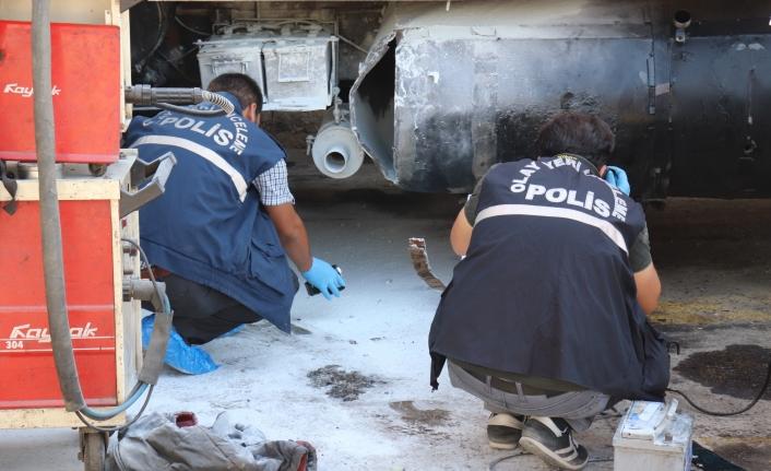 Sanayide Yakıt Deposu Patladı:3 Yaralı