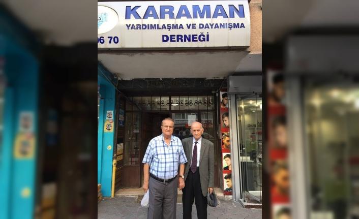 Yılmaz Babaoğlu Ve Özcan Genç'ten KARYAD Ziyareti