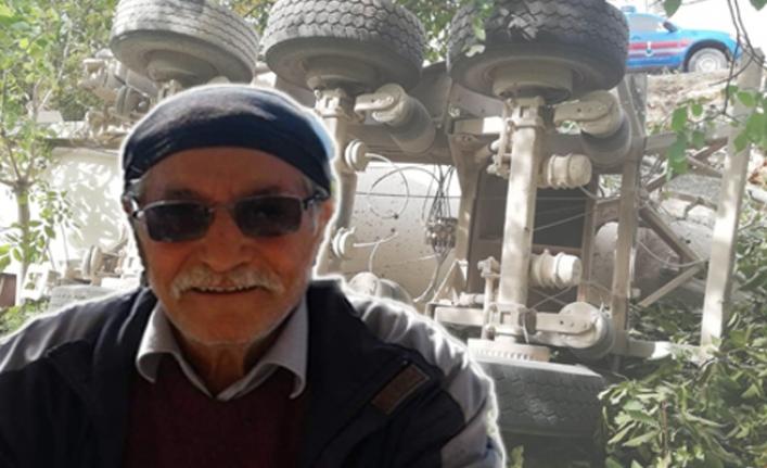 Devrilen Beton Mikseri Yaşlı Adamın Ölümüne Neden Oldu