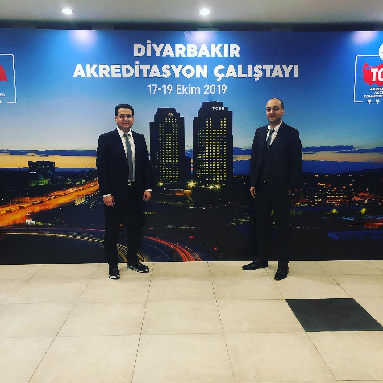 Diyarbakır'da Düzenlenen Akreditasyon Çalıştayına Katıldılar