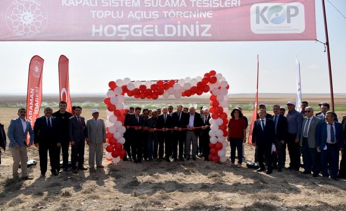 Karaman'da 7 Proje Hayata Geçirildi