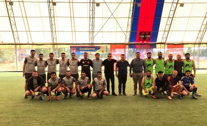 MEDAŞ'tan Futbol Turnuvası