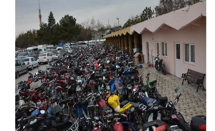 Yakalanan Yüzlerce Motosiklet Hurda İşletmesine Gönderildi