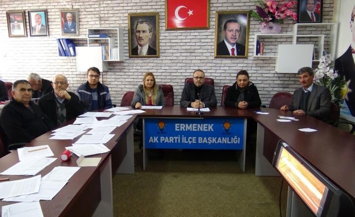 AK Parti Ermenek'te Delege Seçimi Yaptı