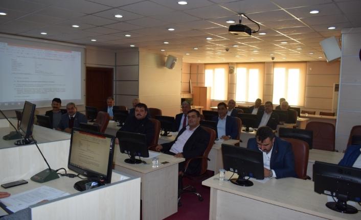 İl Genel Meclisi Aralık Toplantıları Başladı