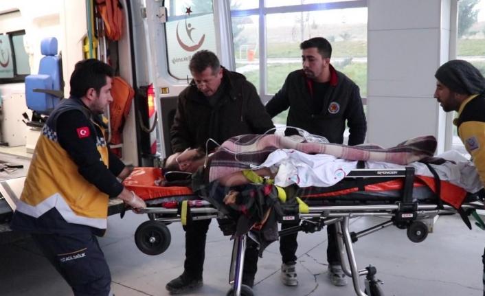 Karaman'da Elektrik Akımına Kapılan İşçi Yaralandı