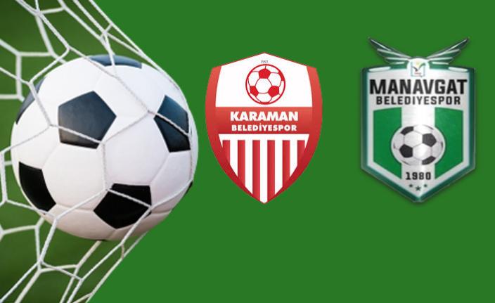 Karaman Belediyespor'un Konuğu Manavgat Belediyespor