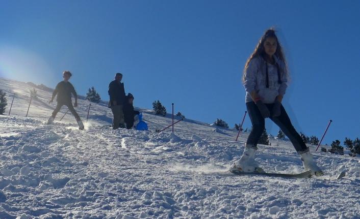 Karaman'ın Kayak Merkezi Sezonu Açtı