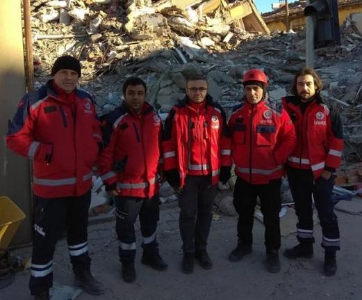 UMKE Ve 112 Ekipleri Deprem Bölgesinden Döndü