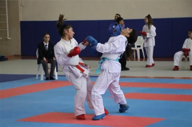 Analig Karate Grup Müsabakaları Karaman`da Yapıldı