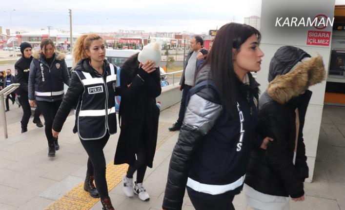 Karaman'da Banka Dolandırıcılık Operasyonu: 2 Tutuklama