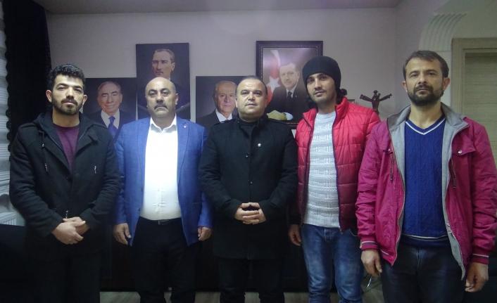 Karaman'da İşçilerden Sözünü Tutan Patrona Teşekkür