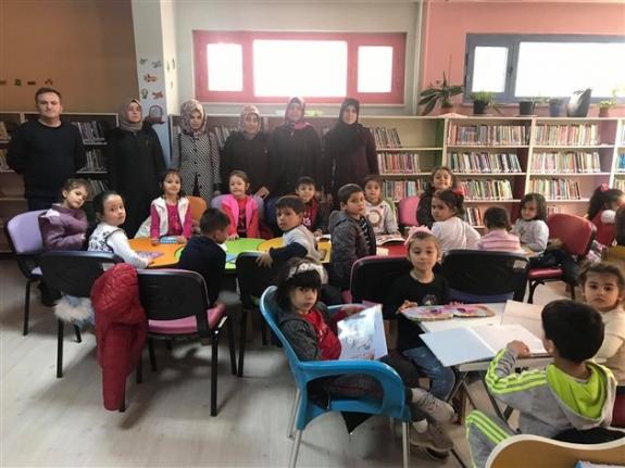 Karaman'ın En Çok Okuyan Okulundan Kütüphane Ziyareti
