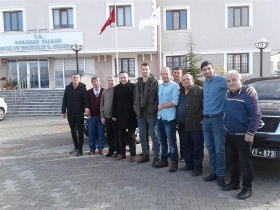 Malatya`da Deprem Bölgesinde Çalışma Yapacaklar