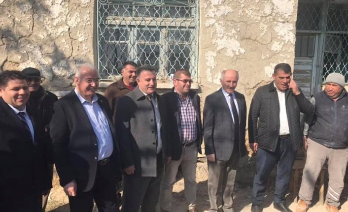 Vali Meral Akçaşehir'de İncelemelerde Bulundu