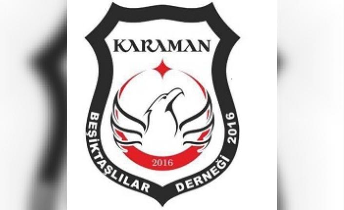 """Beşiktaşlılar Derneği: """"Evde Kal Karaman"""""""