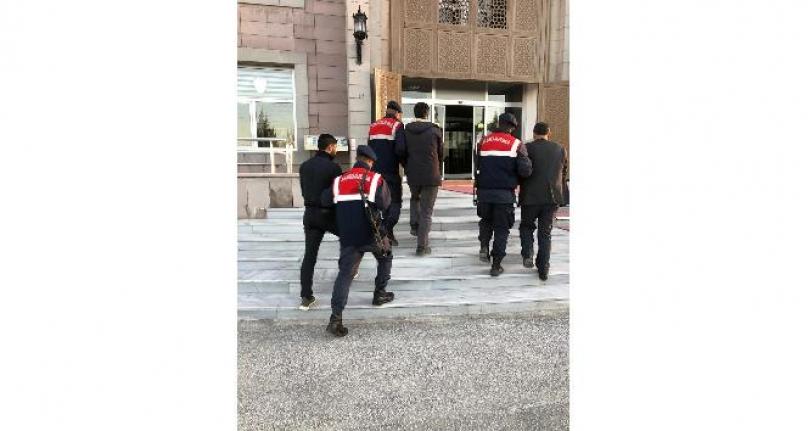 Ereğli'de Hayvan Hırsızları Jandarmanın Takibiyle Yakalandı