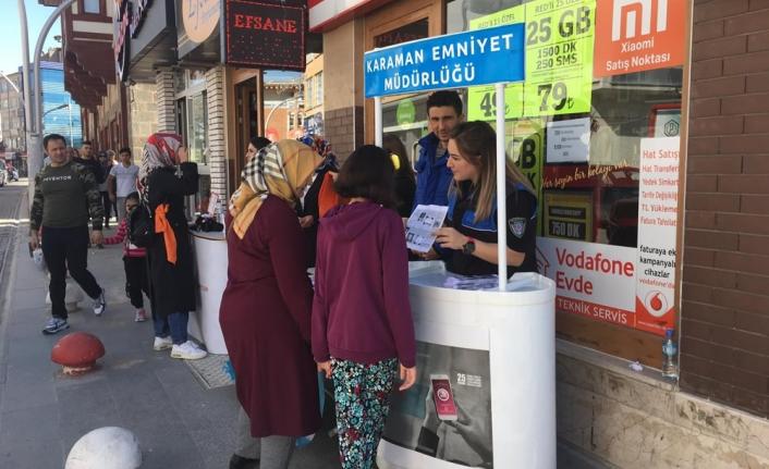 İsmet Paşa Caddesinde KADES Tanıtıldı
