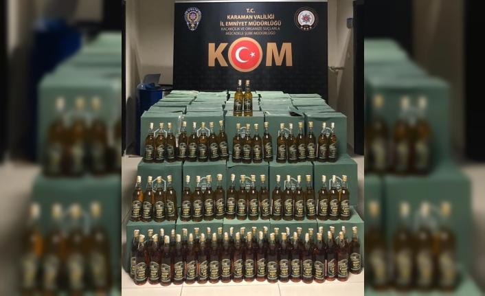 Karaman'da Kaçak İçki Operasyonu!