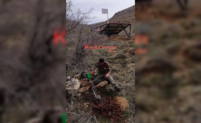 Karaman'da Ekolojik Su Pınarlarının Bakım Çalışmalarına Başlandı