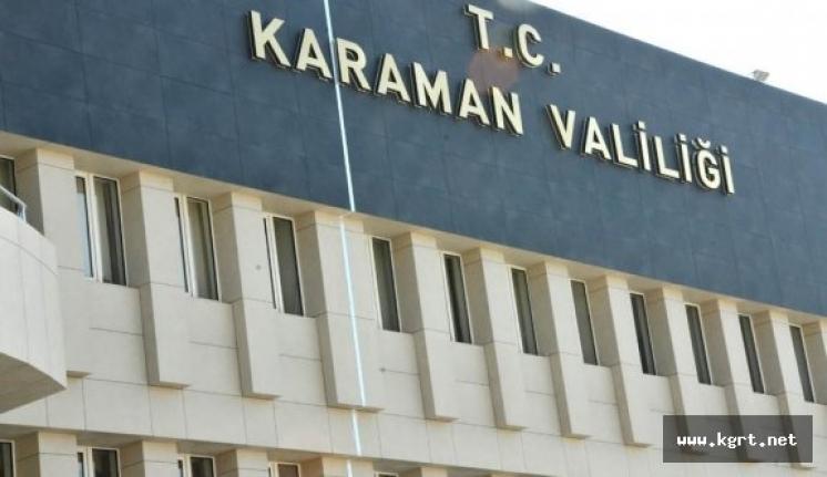 Karaman'da Koronavirüs Tedbirleri Toplantısı Yapıldı
