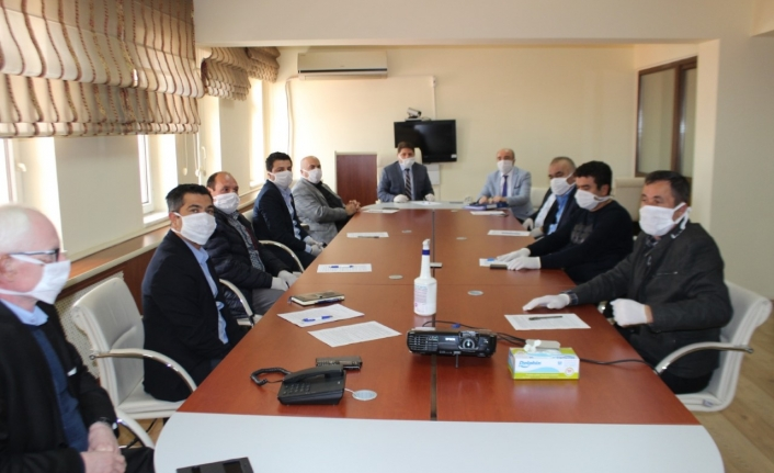 Karaman'da Tarımsal Üretimin Aksamaması İçin Alınan Tedbirler Değerlendirildi